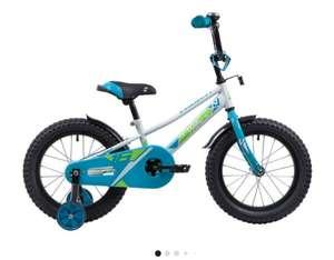 Детский велосипед Novatrack Valiant 16 (2019) белый