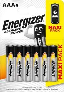 Батарейки ENERGIZER Alkaline Power AAA BP6 6 шт