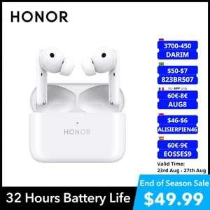 Наушники HONOR Earbuds 2 Lite глобальная версия