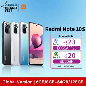Смартфон Redmi Note 10S 6ГБ 64ГБ NFC