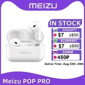 Наушники - вкладыши TWS Meizu POP Pro