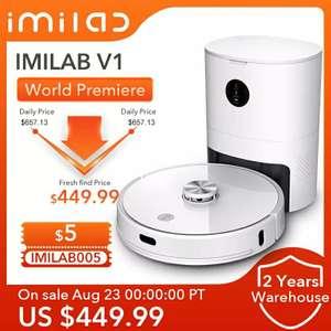Умный робот-пылесос IMILAB V1