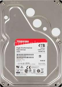 Жесткий диск Toshiba SATA-III 4Tb HDWE140EZSTA X300 (7200rpm) Tmall-Ситилинк