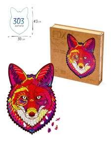 Zufa / Деревянные пазлы Лиса XL, 303 детали, 30х43 см