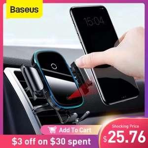 Универсальное беспроводное зарядное устройство в авто Baseus 15 Вт