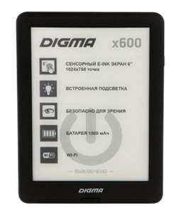 [Верхотурье] Электронная книга Digma X600 Black