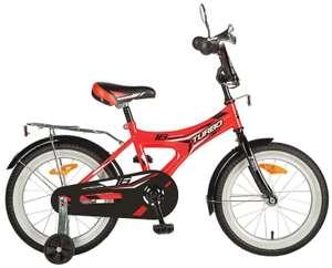 Детский велосипед Novatrack Turbo 16 (2020) красный