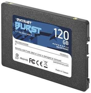 SSD-накопитель Patriot Memory Burst 120GB, TLC