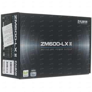 Блок питания Zalman ZM600-LXII