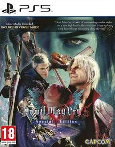 [PS5] Игра devil may cry 5 special edition