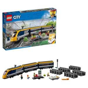 Lego Trains Пассажирский поезд
