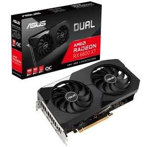 Видеокарта ASUS Dual AMD Radeon RX 6600XT (DUAL-RX6600XT-O8G)