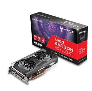 Видеокарта Sapphire AMD Radeon RX 6600XT Gaming OC NITRO+