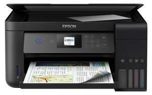 МФУ Epson L4160 (A4, 4-х цв. стр. фотопечать, Wi-Fi, ЖК, duplex)