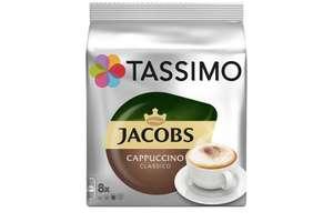 Кофе в капсулах Tassimo Jacobs Cappuccino Classico, 8 капсул