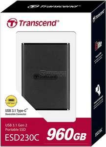 Внешний SSD Transcend ESD230C 960 GB
