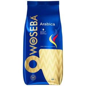 Кофе Woseba Arabica в зернах 1 кг + еще в описании