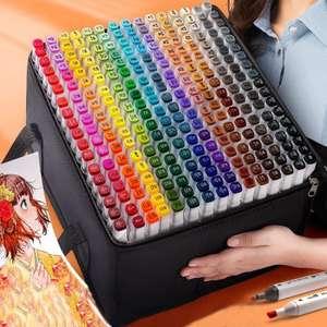 Двусторонние маркеры ODOYO, 262 цвета