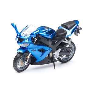 """Игрушечный мотоцикл Bburago """"CYCLE Kawasaki Ninja ZX-10R"""""""