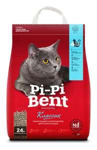 Комкующийся наполнитель Pi-Pi Bent Классик, 10 кг