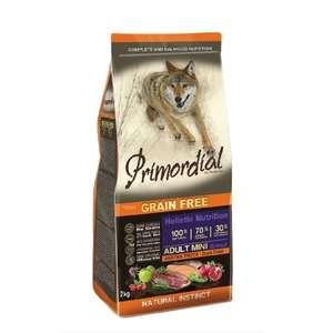 Primordial корм для взрослых собак малых пород, форель, утка 2 кг