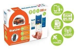 Автосигнализация StarLine S96 v2 2CAN+4LIN 2SIM GSM GPS