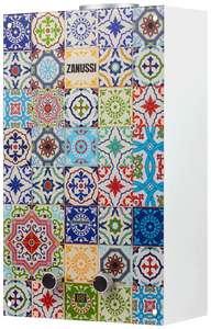 Проточный газовый водонагреватель Zanussi GWH 10 Fonte Glass Fregio