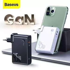 ЗУ Baseus GaN 45 Вт Power Bank 10000 мАч
