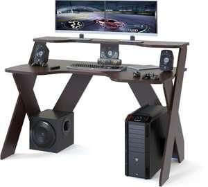 [Тула] Стол игровой СОКОЛ КСТ-117, ЛДСП, венге