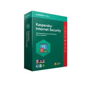 Антивирус Kaspersky Internet Security (лицензия на 2 устройства 3 месяца)
