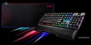 Комплект XPG механическая клавиатура (свитчи и на выбор) + коврик