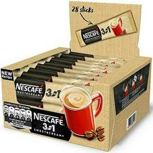 [п. Зубова Поляна] Кофе растворимый Nescafé 3в1 Сливочный вкус 34шт.