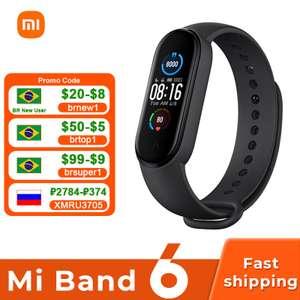 Смарт-браслет Xiaomi MI Band 6 Global