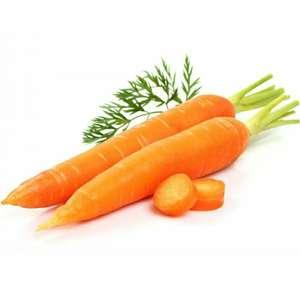 Овощи в ассортименте, например, морковь