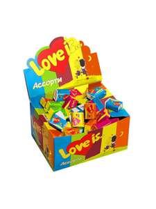 Love is жевательная резинка Ассорти вкусов 100шт*4.2г