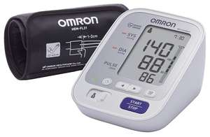 Тонометр Omron M3 Comfort + адаптер + универсальная манжета (HEM-7134-ALRU)