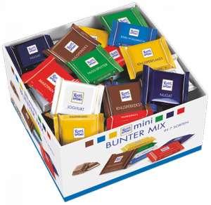Набор мини-шоколада Ritter Sport Яркая Коллекция 7 вкусов, 1400 г