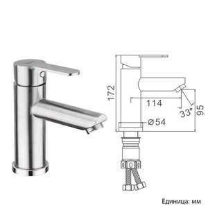 FRAP нержавеющая сталь смеситель для раковины смеситель для раковины раковина кран миксер смесители для ванной F10801/F10801-2