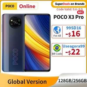 Смартфон Poco x3 pro 6/128 (бронзовый цвет) NFC