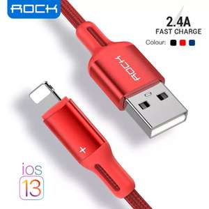 USB кабель Rock для iphone и iPad 2м