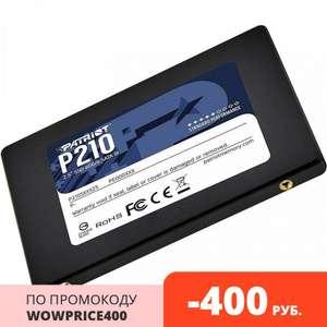 SSD Patriot P210 P210S256G25, 256 Gb, TLC