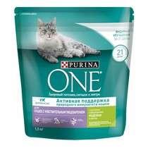 Корм Purina One для кошек 1.5кг