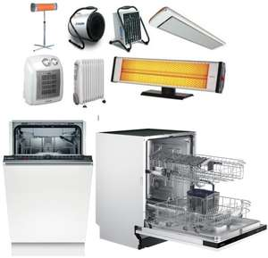 Распродажа обогревателей и посудомоечных машин на Tmall + промокоды на скидку от 600₽ до 7000₽