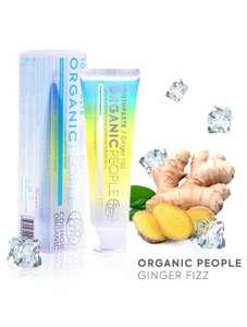 Зубная паста Organic People GingerFizz, защитаоткариесаибактерий, 85 г