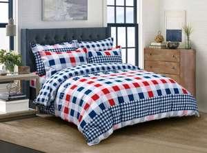 """Комплект постельного белья """"ДомВелл"""" Квадро 1.5 спальный, наволочки 70x70"""