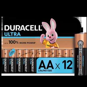 Батарейки Duracell Ultra LR6/AA 12шт