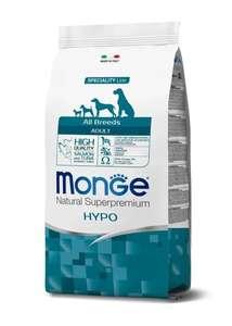 Корм для собак Monge Speciality Line, гипоаллергенный, лосось с тунцом 2.5 кг