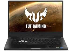 Ноутбук ASUS TUF Dash F15 FX516PR-HN033 Full HD, IPS, Intel Core i7 11370H, 16 ГБ, SSD 512 ГБ, GeForce RTX 3070 8 ГБ, Wi-Fi, DOS