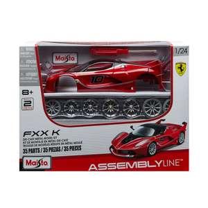 Сборная машинка Maisto Ferrari FXX K 1:24 (металл, полностью разбирается)