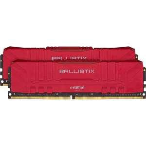 Оперативная память Crucial Ballistix Red DDR4 2x16GB Kit (BL2K16G26C16U4R)